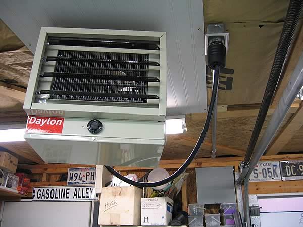 Wiring Garage Heaters The Journal Board Rh Garagejournal Com 240 Volt Electric Heater Best