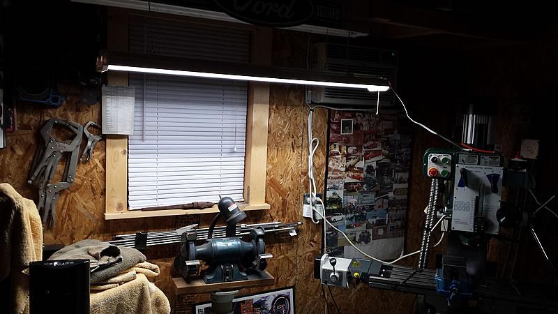 Lights Of America Led Shop Light The Garage Journal Board