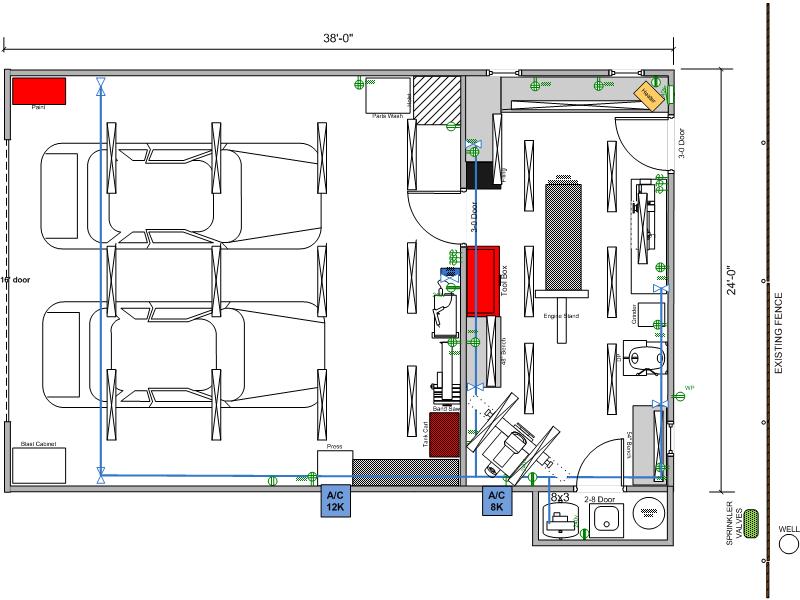 18 stunning garage layouts workshop building plans for 2 car garage workshop layout