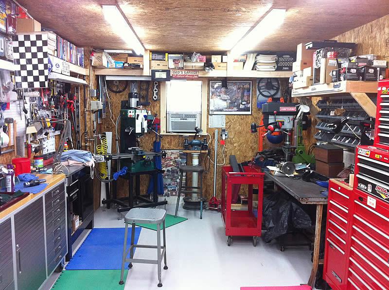 Tool Storage Room The Garage Journal Board