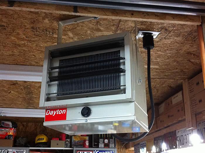 Dayton Natural Gas Torpedo Heater